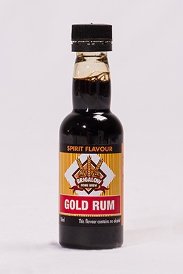 Brigalow Gold Rum 50ml Bottle