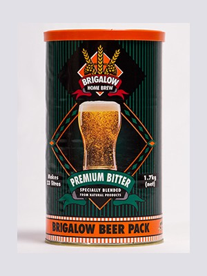Brigalow - Premium Bitter 1.7kg Can 6 pack