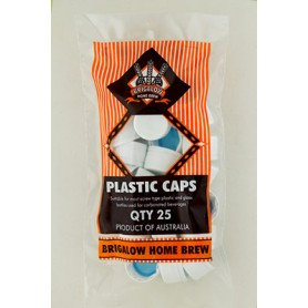 Brigalow Plastic Caps 25Pk Carton of 10